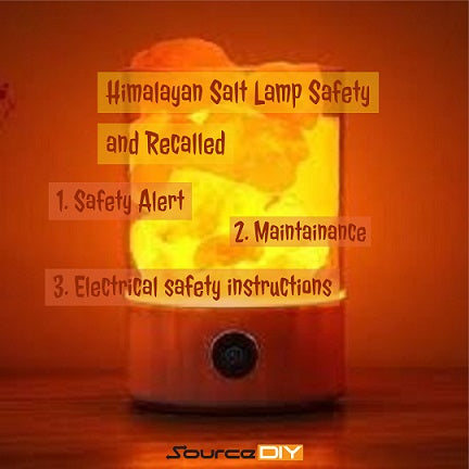 Himalayan Salt Lamp Safety and Recalled