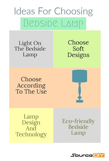 5 Smart Ideas For Choosing Your Bedside Lamp