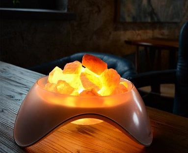 Salt Lamps Relieve Coughing