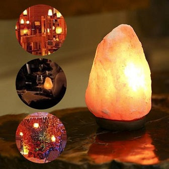 Put A Glass Lamp of Himalayan Salt In Your Life