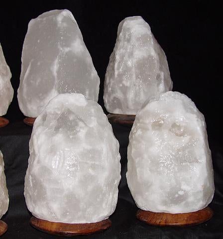 When YouBought A White Crystal Salt Lamp at an Average Cost it may be Fake