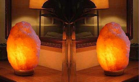The Double Effect of Light of Himalayan Salt lamp: Calm And Dynamic