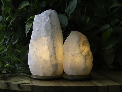 Himalayan Crystal Salt Lamps