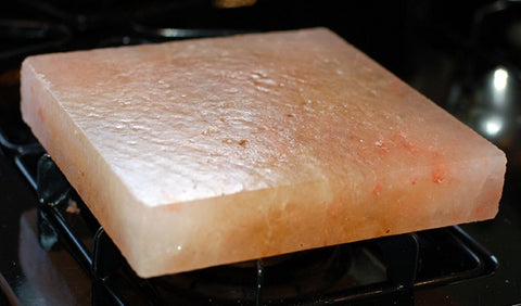 How To Heat a Himalayan Salt Slab