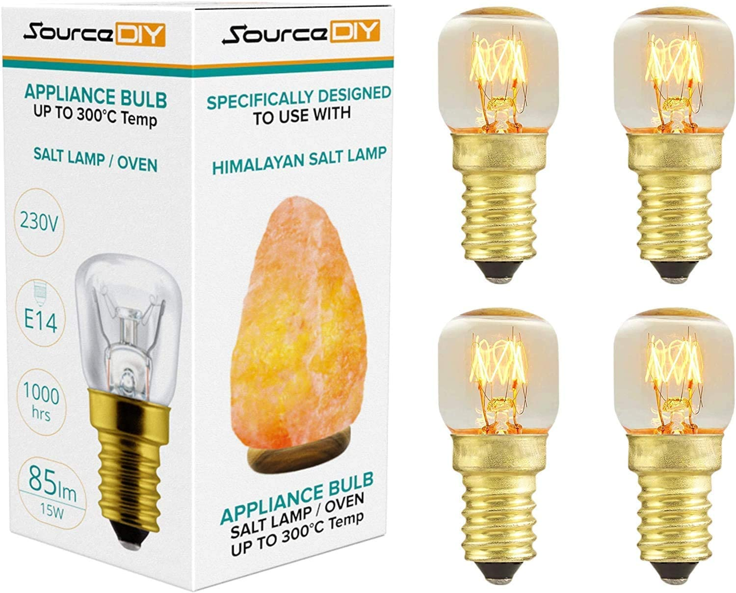 Himalayan Salt Lamp Light Bulbs Replacement E14 For UK And Europe