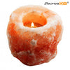 NATURAL HIMALAYAN SALT TEALIGHT CANDLE HOLDER (3 UNITS) - SourceDIY