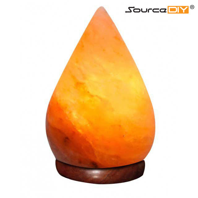 TEARDROP HIMALAYAN CRYSTAL SALT LAMP