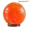 SOCCER BALL HIMALAYAN CRYSTAL SALT LAMP - SourceDIY