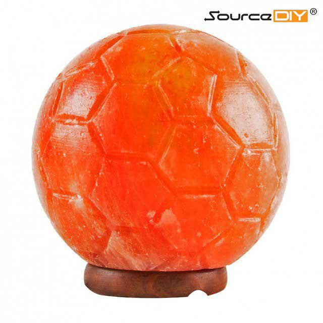 SOCCER BALL HIMALAYAN CRYSTAL SALT LAMP