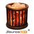 WOODEN BASKET HIMALAYAN CRYSTAL SALT LAMP