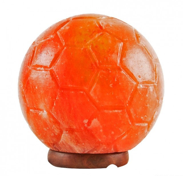 Soccer Football Shaped Himalayan Salt Lamps (Pack of 4)