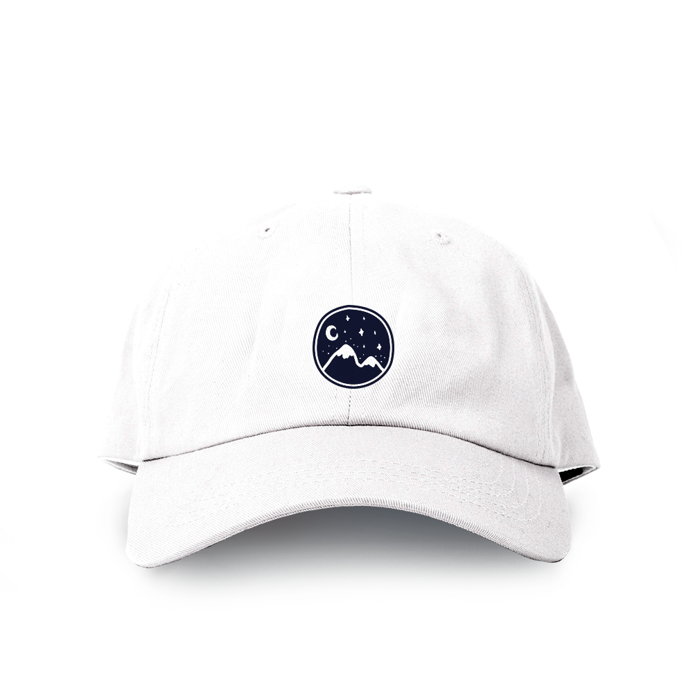 Dadcap | Mountain - White