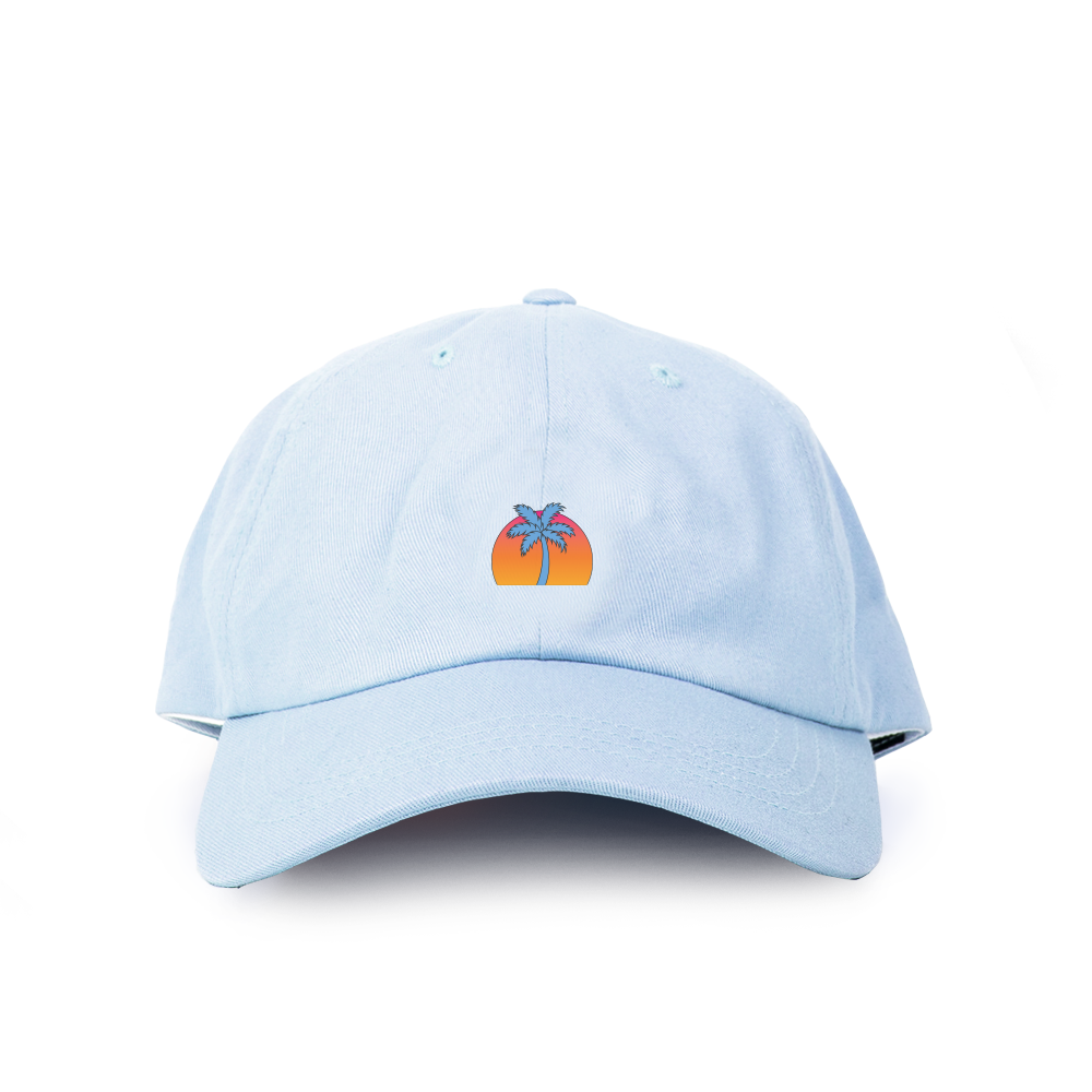 Dadcap | Palm Tree - Blue