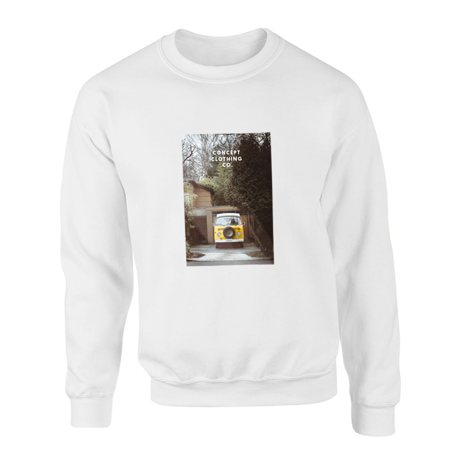 Crewneck | Westfalia - White