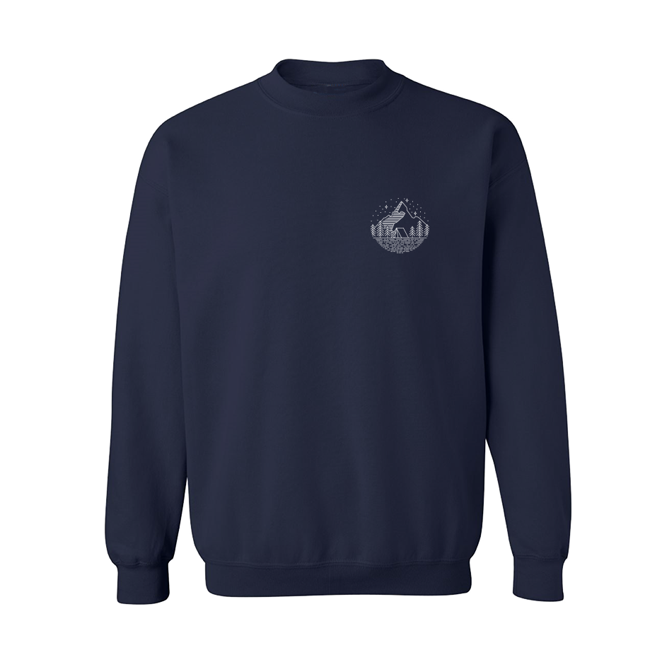 Night-Crewneck Navy