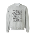 Crewneck | Road Trip - Grey