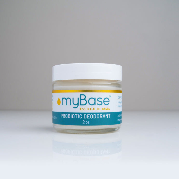 All Natural, Probiotic Deodorant Base