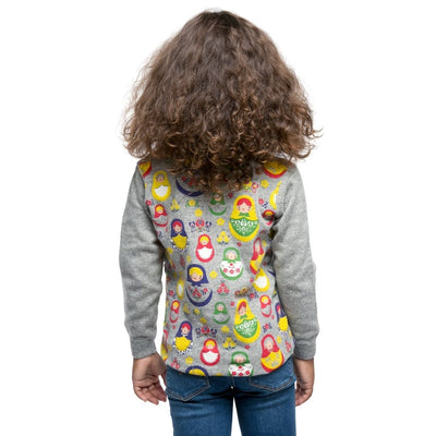 Kids Cashmere Turtleneck Sweater - Russian Dolls