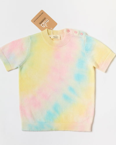 cashmere tie dye for kids