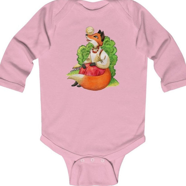 """Колобок"" Long Sleeve Baby BodySuit"