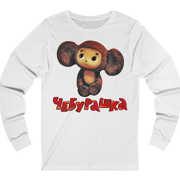"""Чебурашка"" Premium Long Sleeve Crewneck"