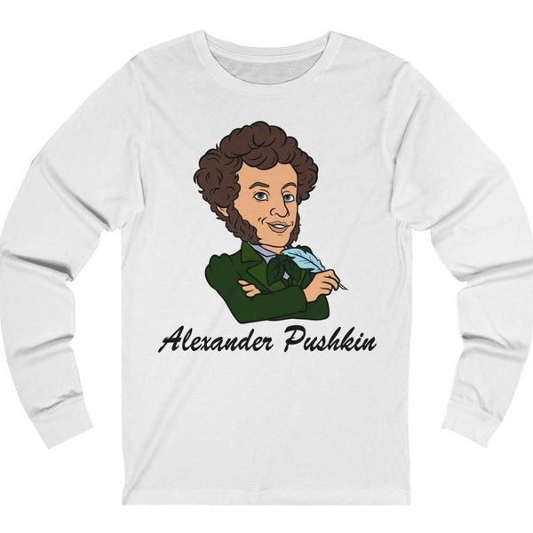 """Pushkin"" Premium Long Sleeve Crewneck"