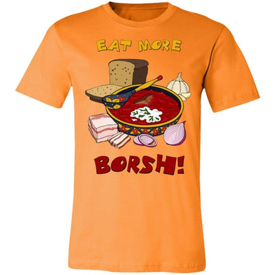 """Eat More Borsh!"" Ladies' Uni-Tee"