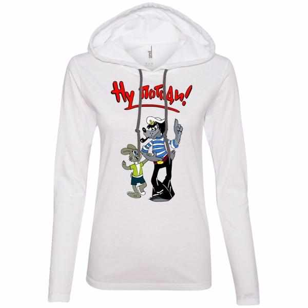 """Ну, погоди!"" Ladies' Light Hooded Tee"