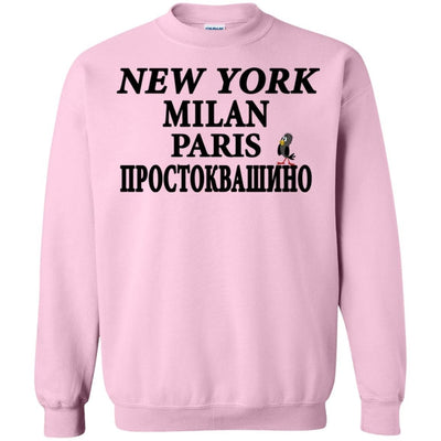 """NY Milan Paris"" Ladies' WARM SWEATSHIRT"