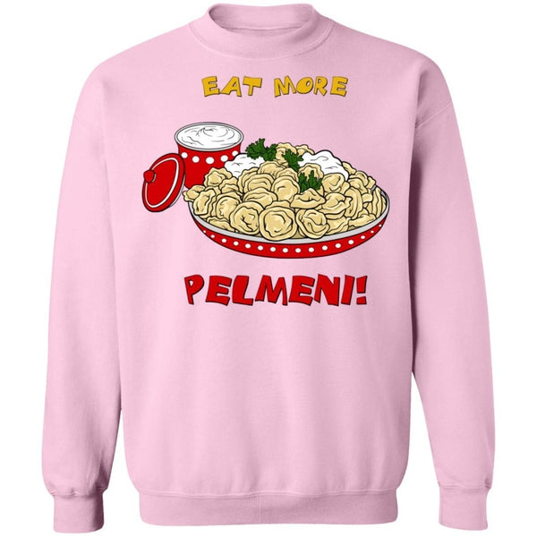 """Eat More Pelmeni"" Ladies' Warm Sweatshirt"