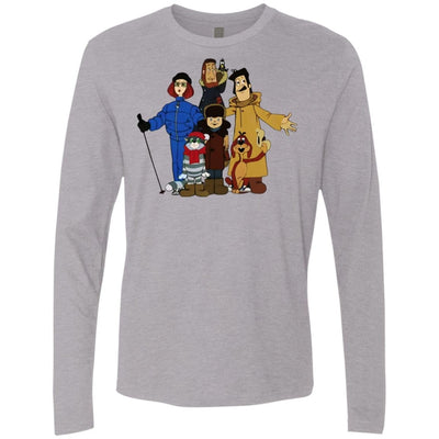 """Friends from Простоквашино"" Men's Premium Long Sleeve Tee"