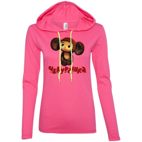 """Чебурашка"" Ladies' Light Hooded Tee"