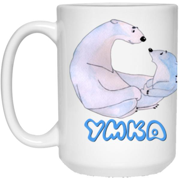 """Умка c мамой' Coffee Mug - 15oz"