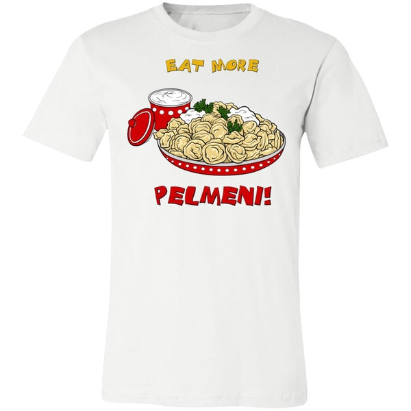 """Eat More Pelmeni"" Ladies' Uni-Tee"