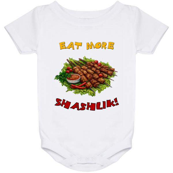 """Eat More Shashlik!"" Everlast Baby Onesies"