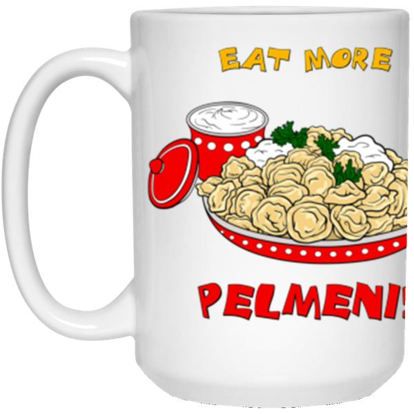 """Eat More Pelmeni"" Coffee Mug"