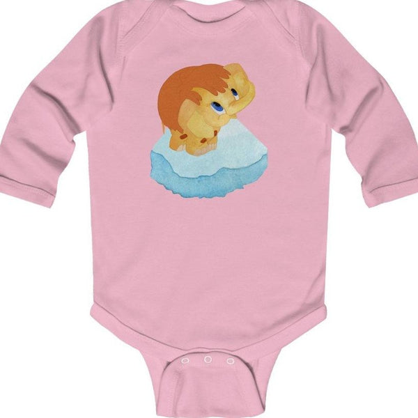 """Мамонтенок"" Long Sleeve Baby BodySuit"