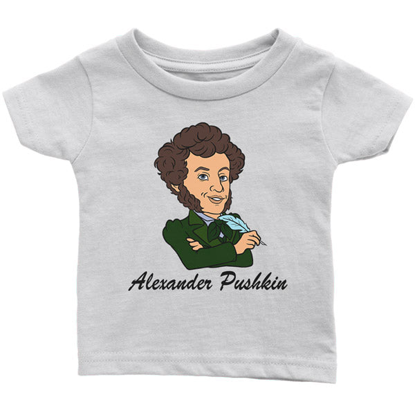 """Little Pushkin"" Infant Tee"