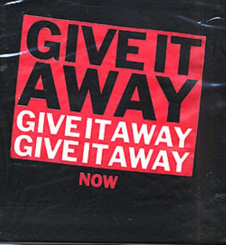 Give It Away Now