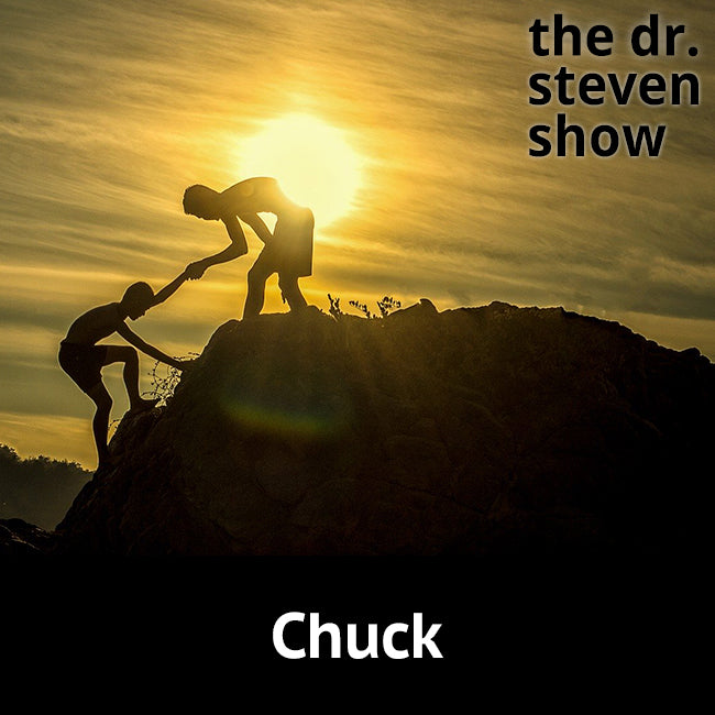 Chuck on The Dr. Steven Show with Steven Eisenberg