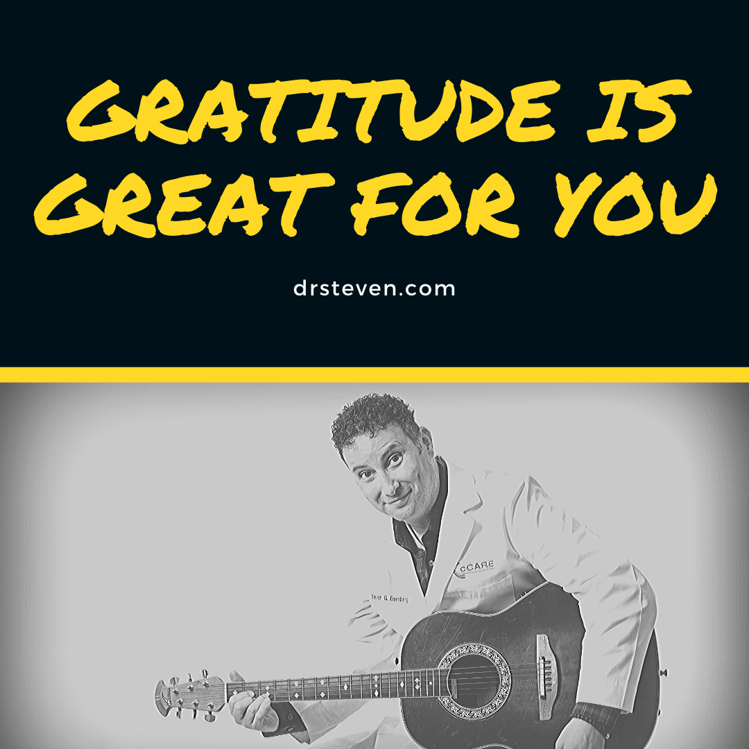 Gratitude is Great for You