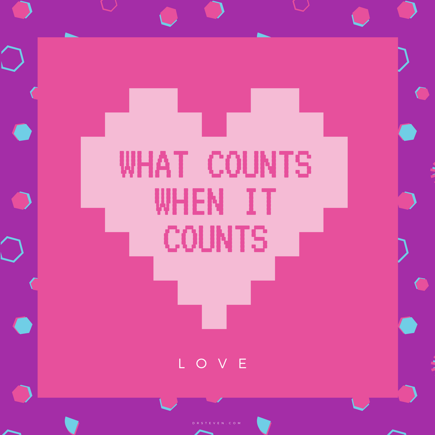 What Counts When It Counts