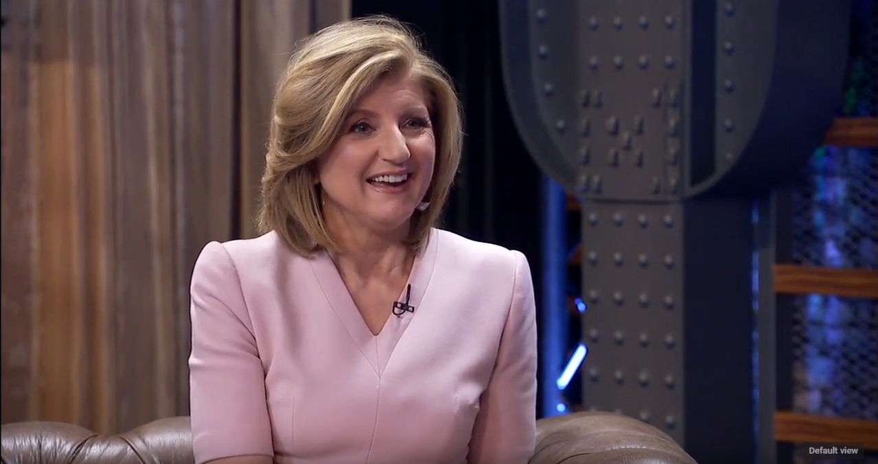Arianna Huffington on Couples Sleeping in Separate Beds