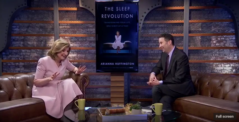 Arianna Huffington on The Current State of Sleep Deprivation