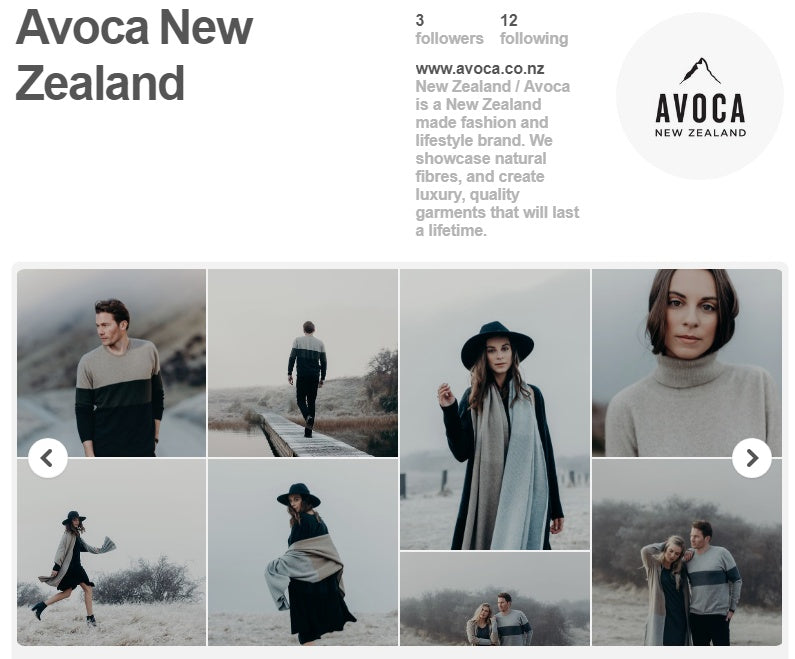 Follow Avoca on Pinterest!