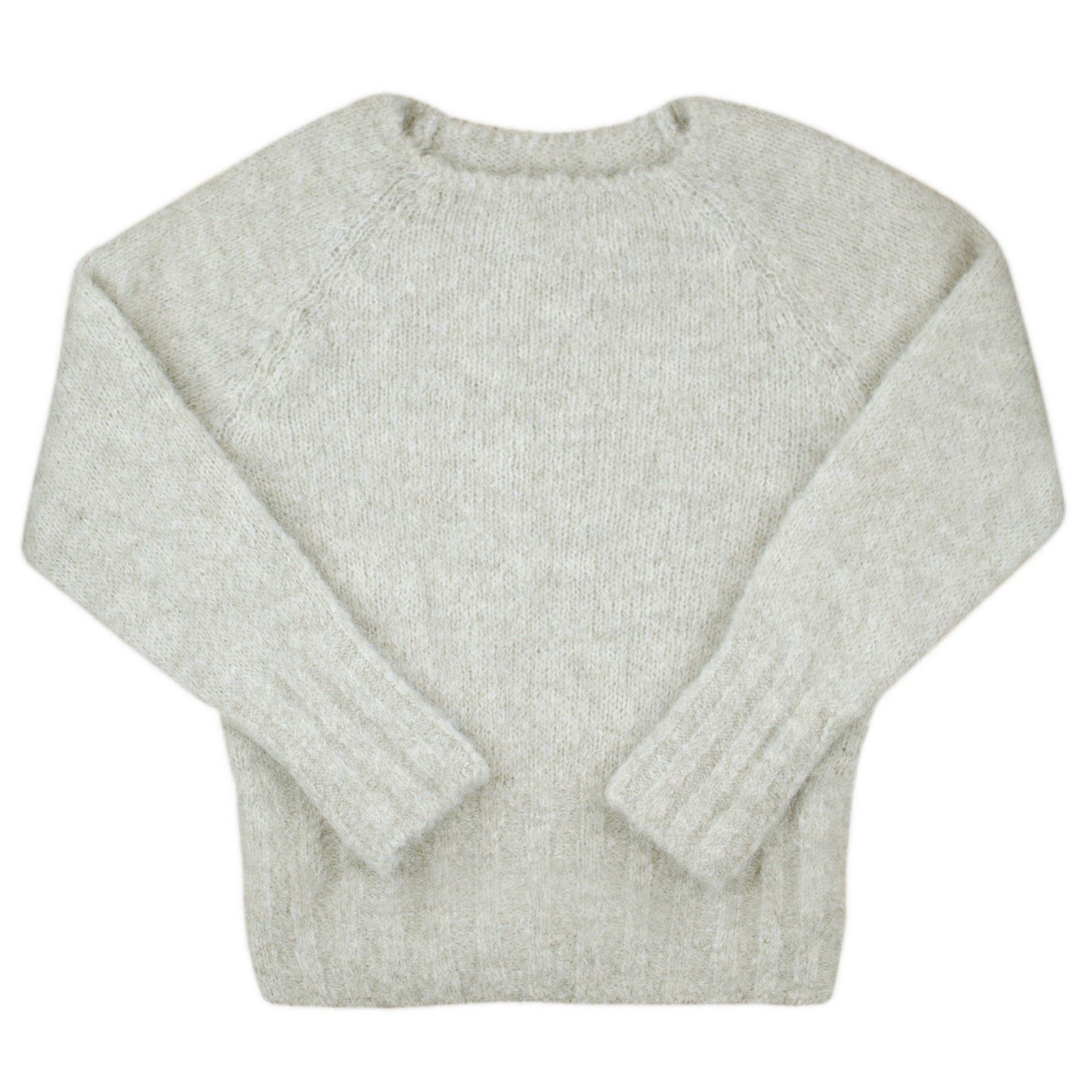 Alpaca Brushed Sweater
