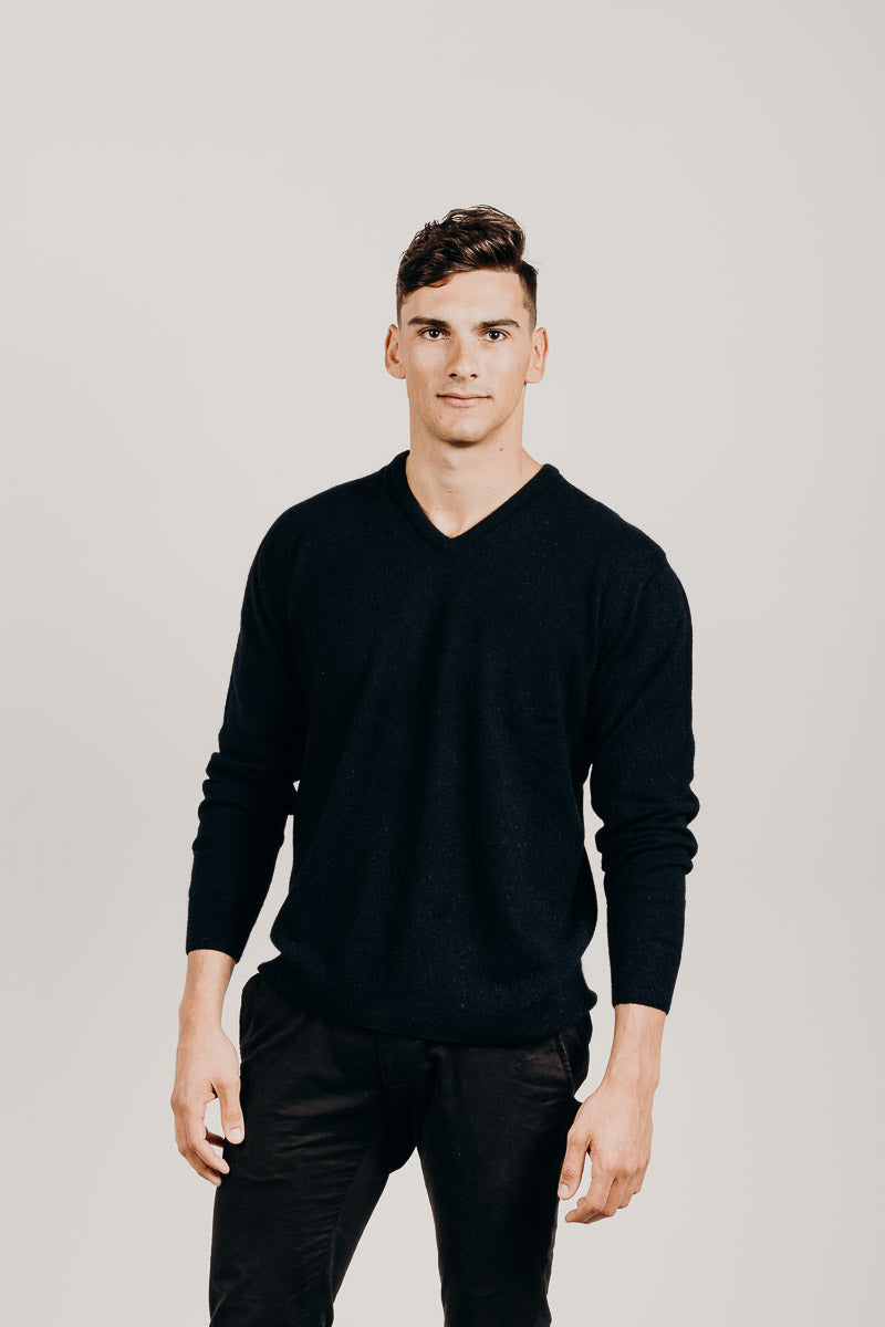 Merinosilk Classic V-Neck Sweater