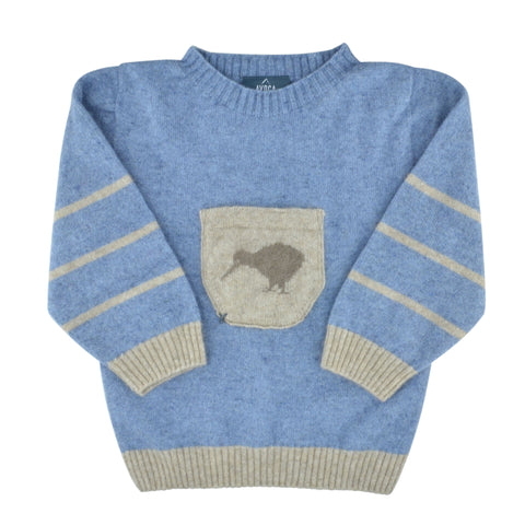 Kids Merinosilk Kiwi Sweater
