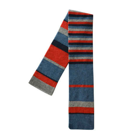 Kids Multicolour Stripe Scarf