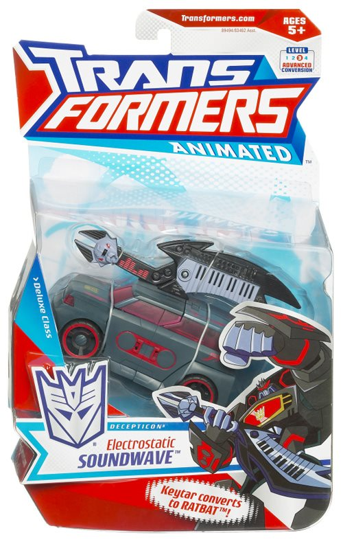 Transformers Animated Electrostatic Soundwave (TFVACL3)